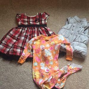 3 piece LOT 24 Months Girls Winter